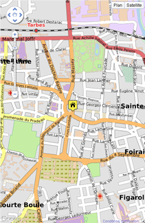 Fig. 20 Carte OpenMapStreet A render