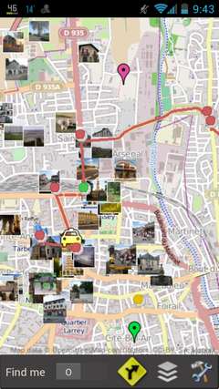 Fig. 140 Demo ECNativeMap for Android